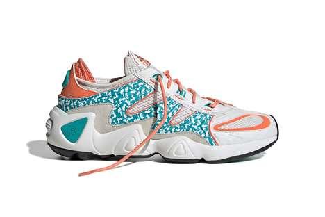 Retro Patterning Sneaker Colorways