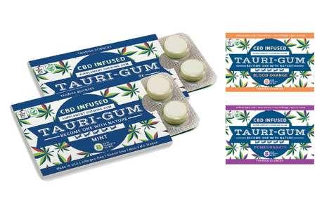 CBD Supplement Chewing Gums