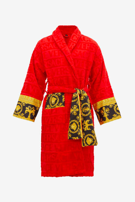 Baroque-Themed Luxury Bathrobes