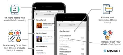 Sustainable Event Rental Apps