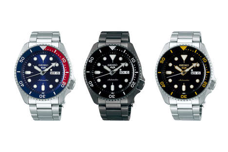 Expansive Sports Watch Relaunches