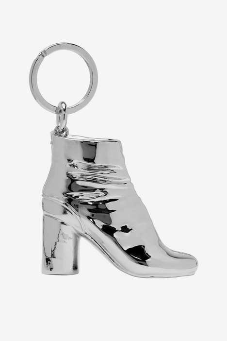 Split-Toe Boot Keychains