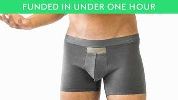 Self-Cleaning Boxer Shorts