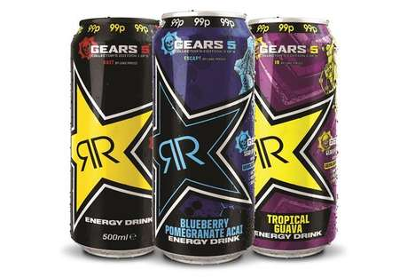 Fan-Inspired Energy Drink Promotions