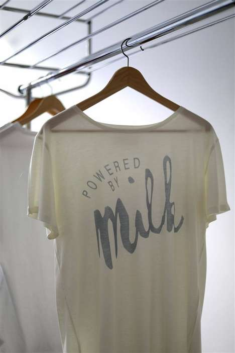 Sustainable Milk-Made Apparel