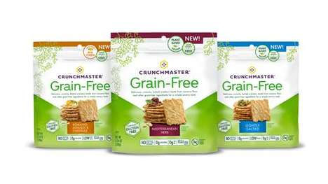 Grain-Free Root Veggie Crackers