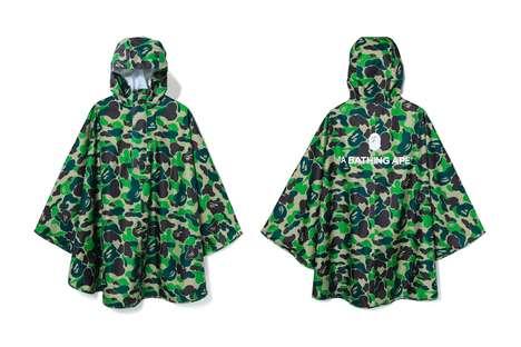 Lightweight Camouflage Ponchos