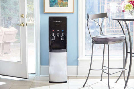 Coffee-Brewing Water Coolers