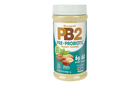 Digestion-Enhancing Peanut Powders