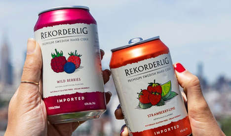 Vegan Fruit-Infused Ciders