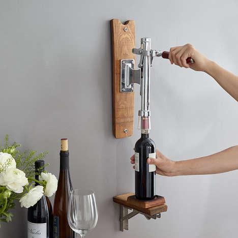 Wall-Mounted Wine Openers