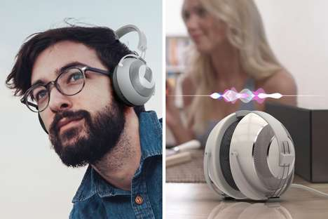 Voice Assistant Headphone Speakers
