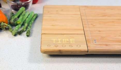 Smart Self-Sanitizing Cutting Boards