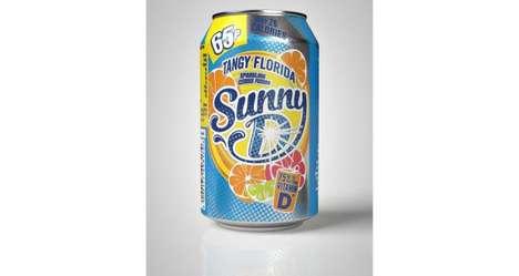 Tangy Effervescent Citrus Refreshments