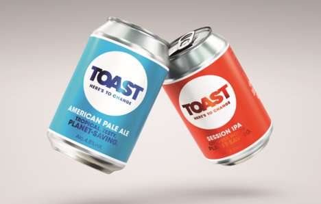 Waste-Conscious Beer Brands