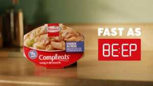 Ultra-Fast Microwaveable Meal Ads
