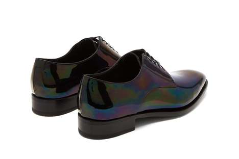 Iridescent 90s-Themed Luxe Shoes