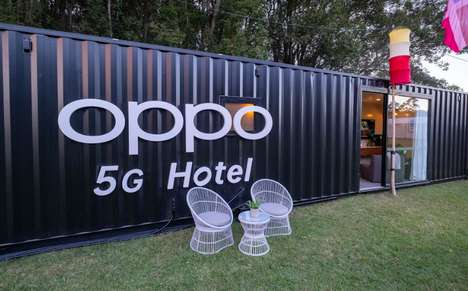 5G-Enabled Shipping Container Hotels