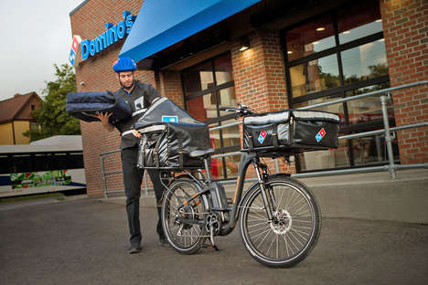 E-Bike Pizza Deliveries