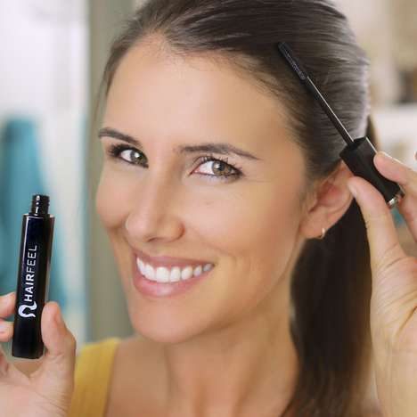 Mascara-Styled Hairspray Products