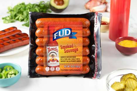 Hot Sauce-Infused Sausages