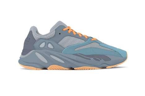 Vibrant Tonal Mesh Sneakers