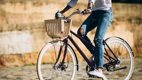 Recycled Coffee Pod Bicycles