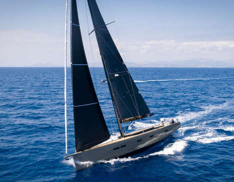 High-Performance Sailing Yachts