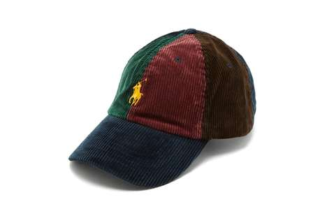 Cotton-Blended Corduroy Hats
