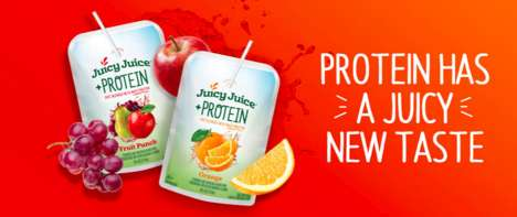 Protein-Enriched Fruit Juices