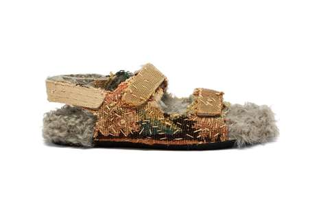 Ancient Chinese Textile Sandals
