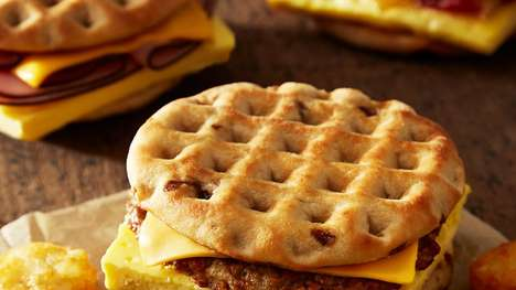 Meaty Maple Waffle Sandwiches