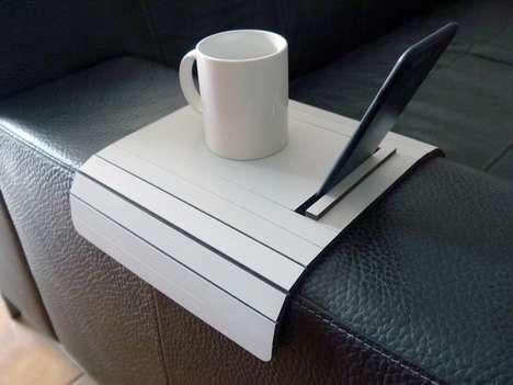 Contemporary Slinky Sofa Armrests