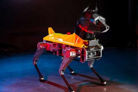 Intelligent AI-Powered Robotic Dogs