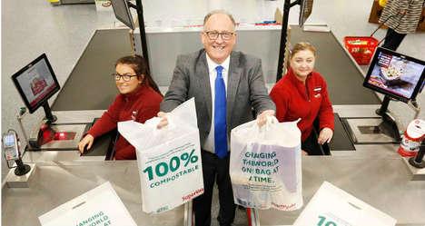 Plastic Alternative Supermarket Bags