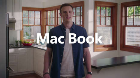 Cheeky Call-Out Laptop Ads