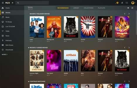 Desktop-Designed Media Apps