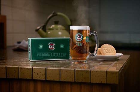 Beer-Flavored Teas