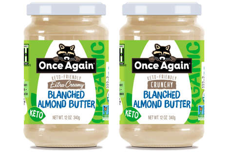 Keto-Friendly Almond Butters