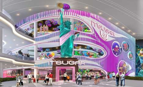 Sprawling Candy Department Stores