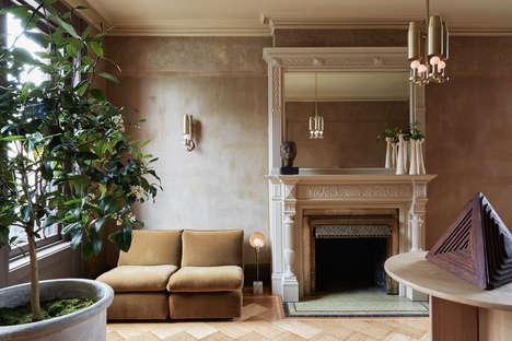 Romantically Elegant Furniture Showrooms