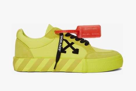 Neon Premium Vulcanized Sneakers
