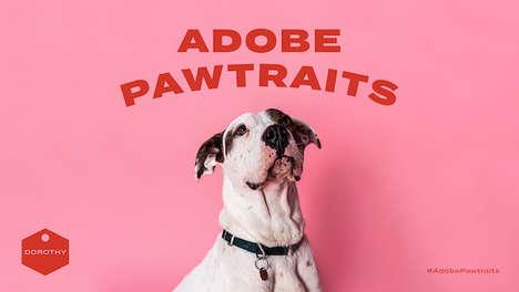 Amusing Rescued Dog Portraits