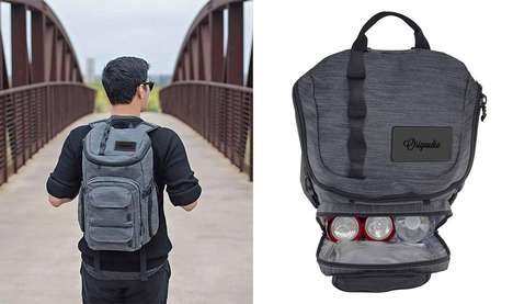Cooler-Equipped Explorer Backpacks