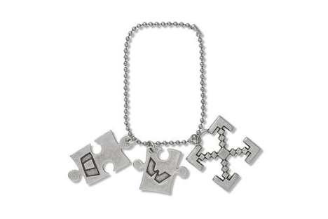 Logo-Emblazoned Charm Bracelets