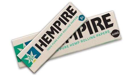 Hemp-Made Rolling Papers