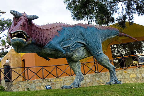 Interactive Dinosaur Amusement Parks