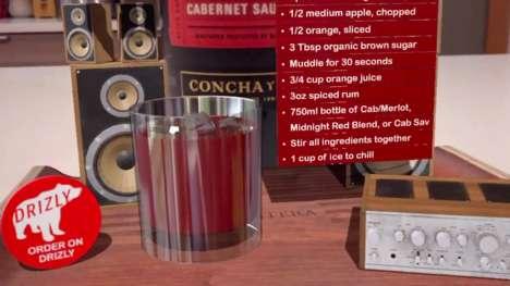 AR Cocktail Recipes