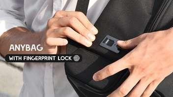 Fingerprint Lock-Enabled Bags