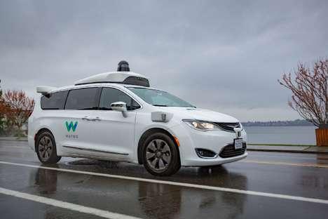 Autonomous Vehicle Weather Testing